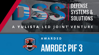 Yulista Holding, LLC Subsidiary-Led Joint Venture Wins $4.7B Contract Supporting AMRDEC Prototype Integration Facility